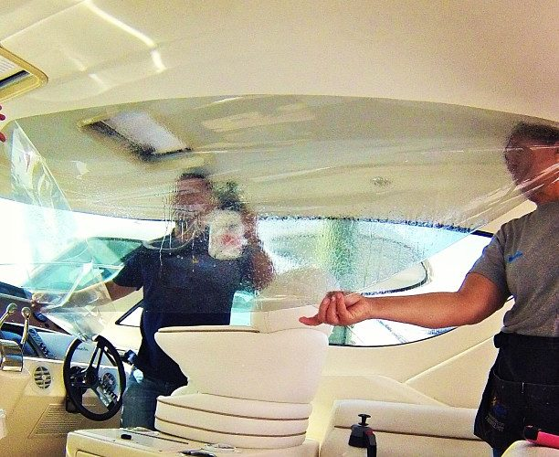 boat window tinting in miami